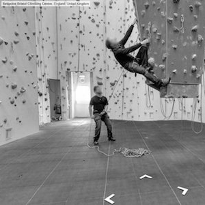 indoor climbing in Redpoint bristol