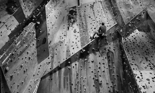 Indoor climbing in bristol climbing centre