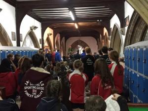 The Bristol Climbing Centre Schools competition