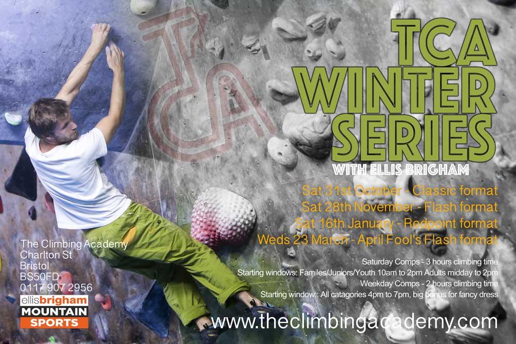 TCA Winter Series Comp dates