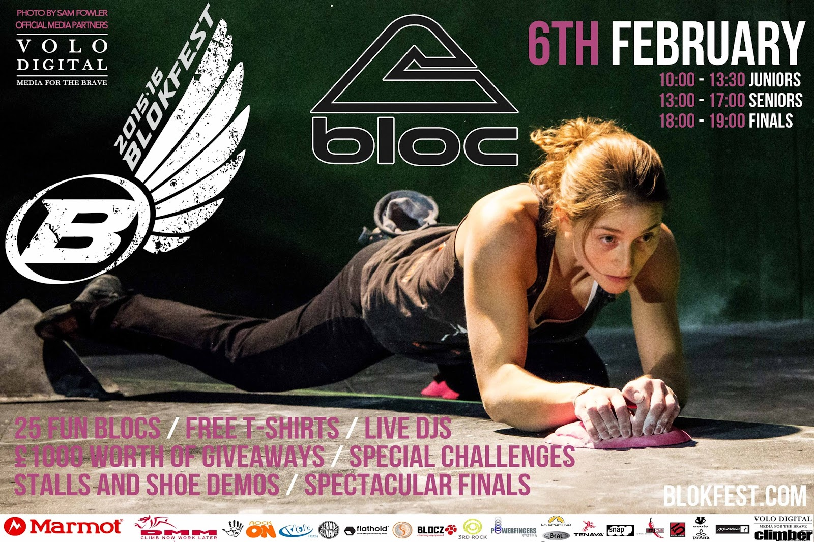 Blokfest climbing competition comes to Bristol