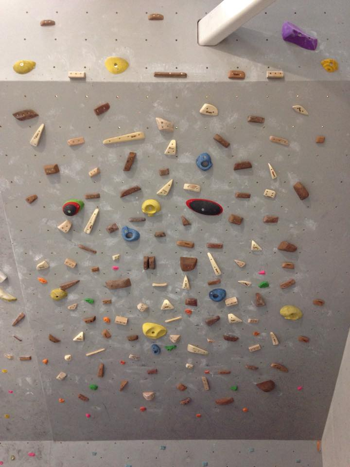 Bristol climbing centre Bloc's picture of the training board